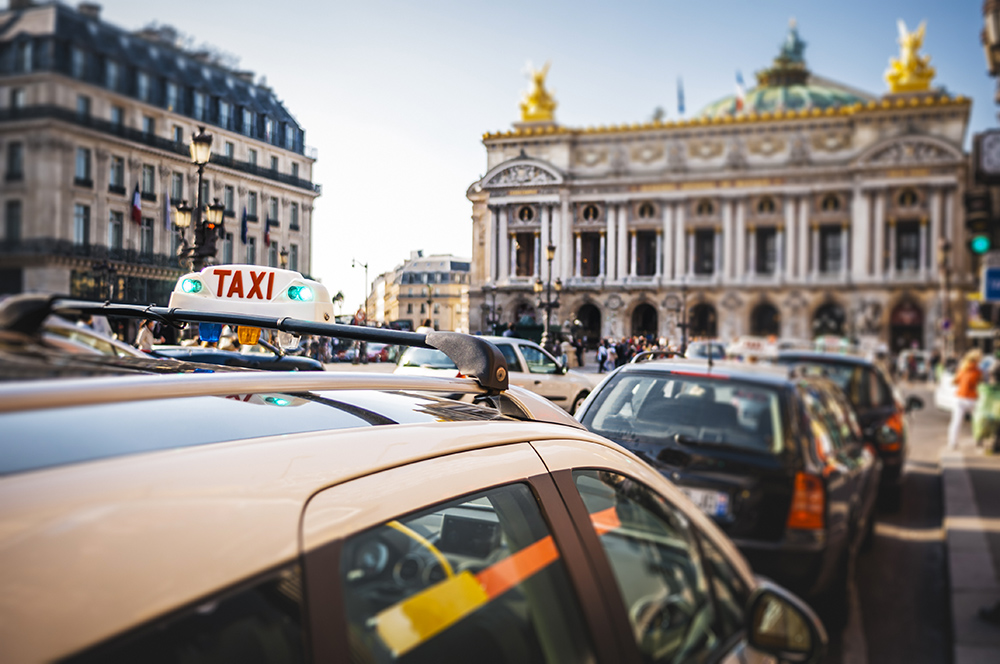 Taxis, Uber, VTC